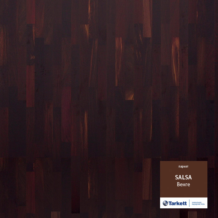 Фото - Паркетная доска Tarkett Salsa Венге